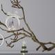 Závěsná dekorace Vánoční skřítci, bílá