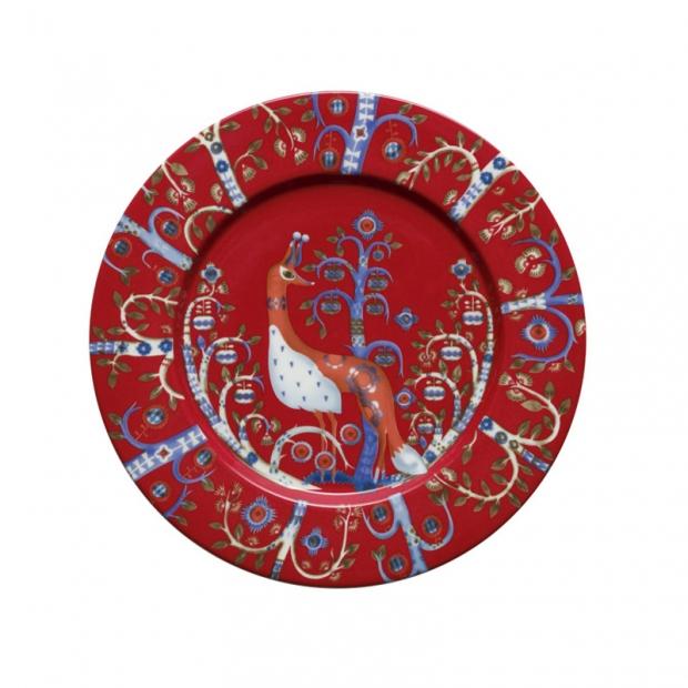 Talíř Taika 22cm, červený