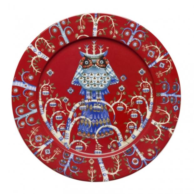 Talíř Taika 27cm, červený