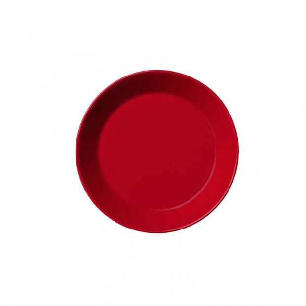 Talíř Teema 17cm, červený
