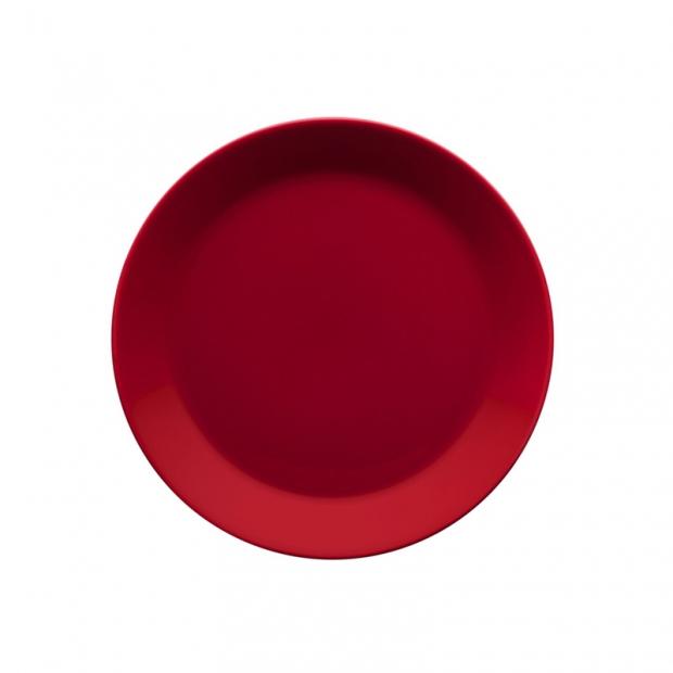 Talíř Teema 21cm, červený
