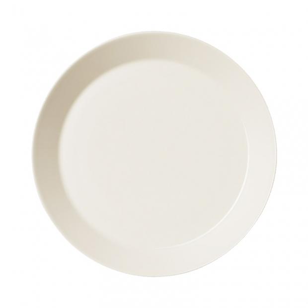 Talíř Teema 23cm, bílý