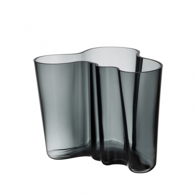 Váza Alvar Aalto 160mm, tmavě šedá