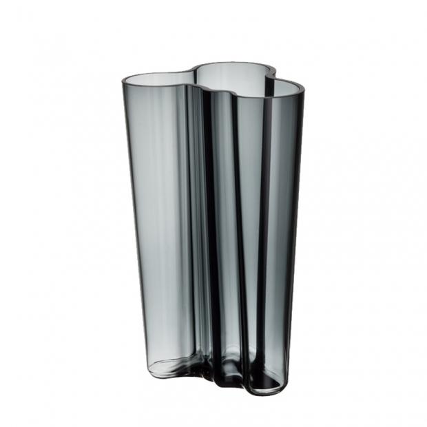 Váza Alvar Aalto 201mm, tmavě šedá