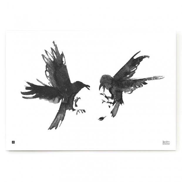 Plagát Raging Ravens 100x70