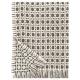 Vlněná deka Corona 130x170, hnědá