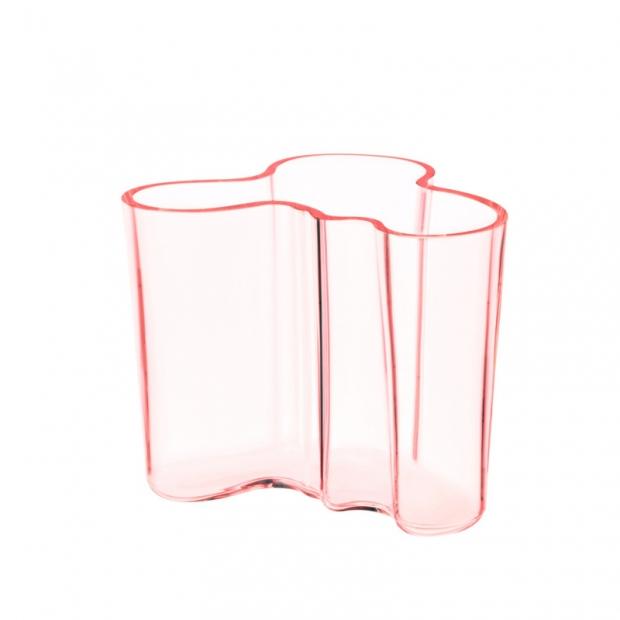 Váza Alvar Aalto 120mm, lososová