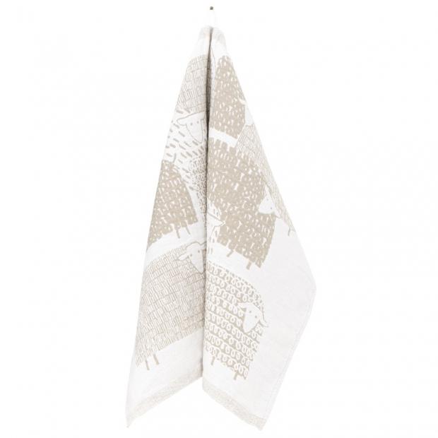 Utierka Ruut 48x70, biela-ľan