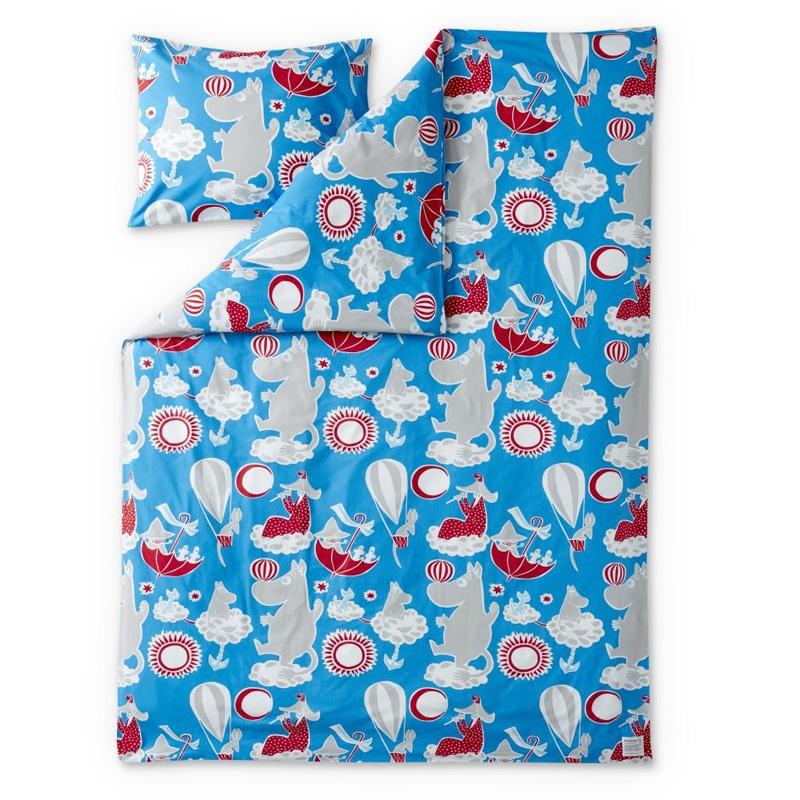 Povlečení Moomin 150x210, modré