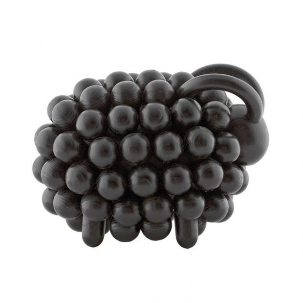 Dřevěný beran Pohjanpässi, černý