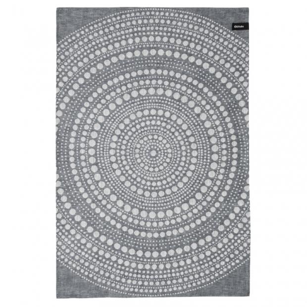 Utěrka Kastehelmi 47x70, tmavě šedá