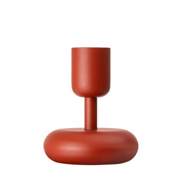 Svícen Nappula 107mm, červený
