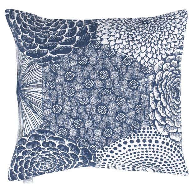 Povlak na polštář Ruut 50x50, modro-bílý