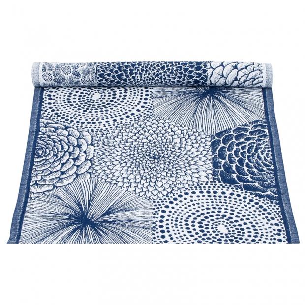 Behúň Ruut 48x150, modro-biely