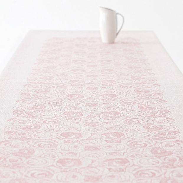 Ubrus Ruusua 150x150, růžový