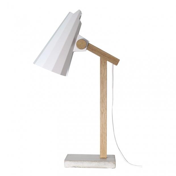 Stolná lampa Filly, biela