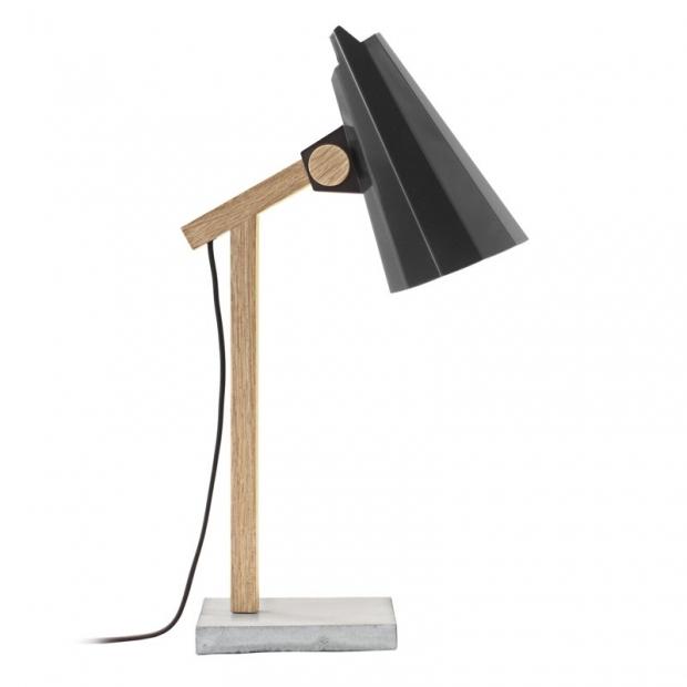 Stolná lampa Filly, čierna