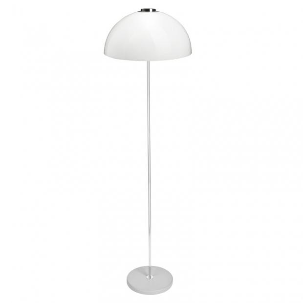 Stojací lampa Kupoli, šedá