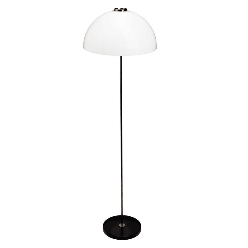 Stojací lampa Kupoli, černá