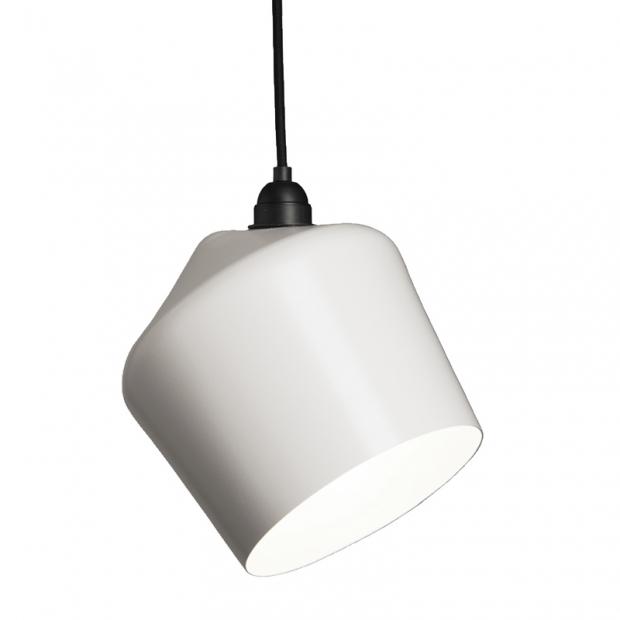 Závěsná lampa Pasila, bílá