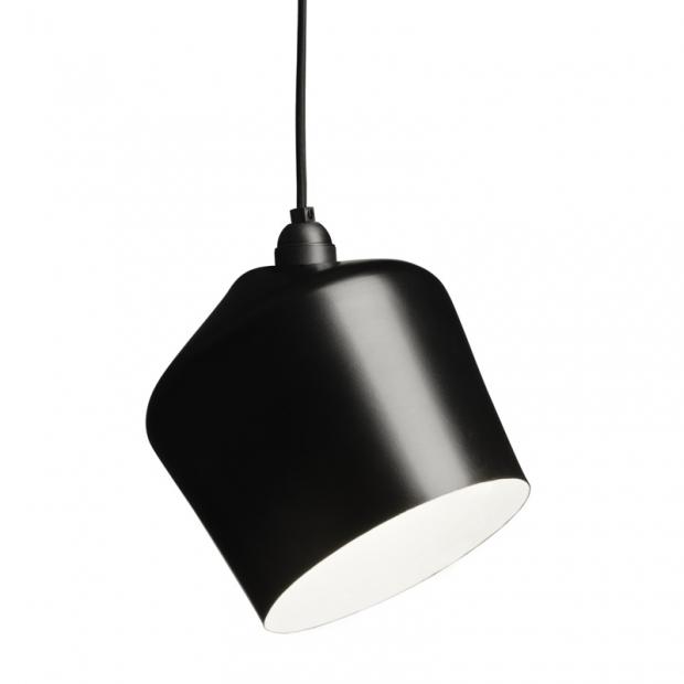 Závěsná lampa Pasila, černá