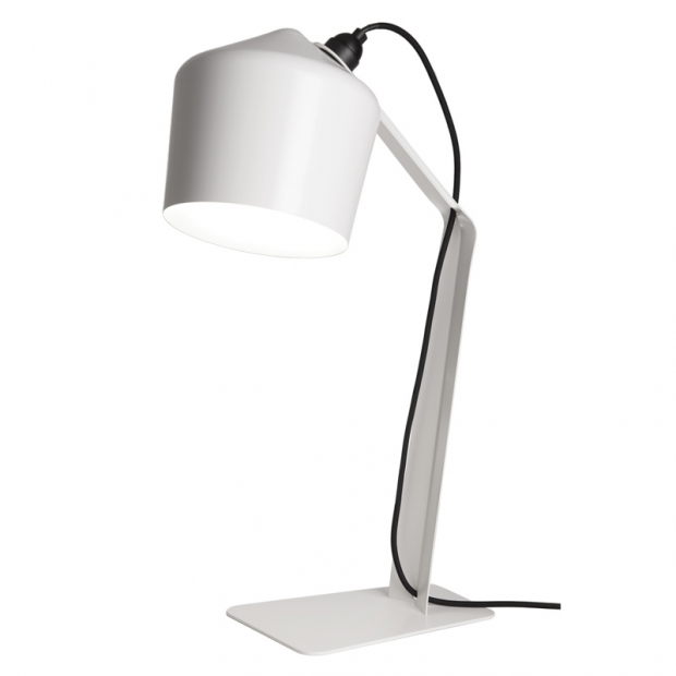 Stolná lampa Pasila, biela