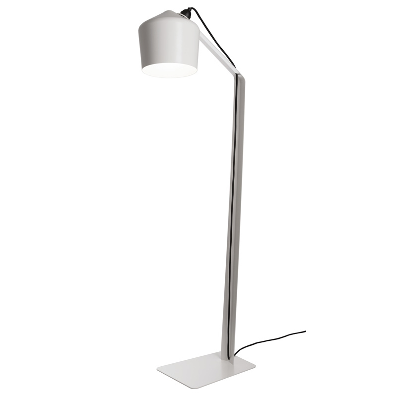 Stojací lampa Pasila, bílá