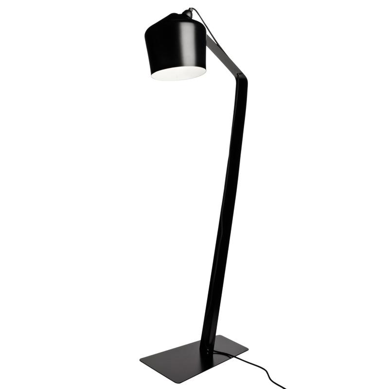 Stojací lampa Pasila, černá