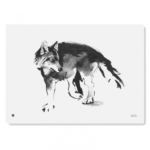 Plagát Wolf 70x50