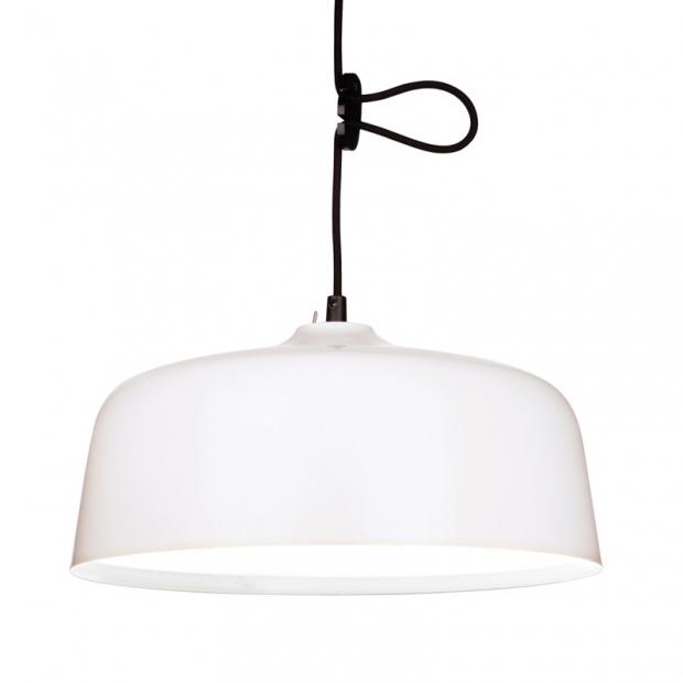Závěsná lampa Candeo Bright Therapy, bílá