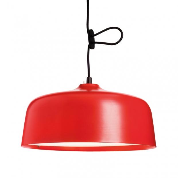 Závěsná lampa Candeo Bright Therapy, červená