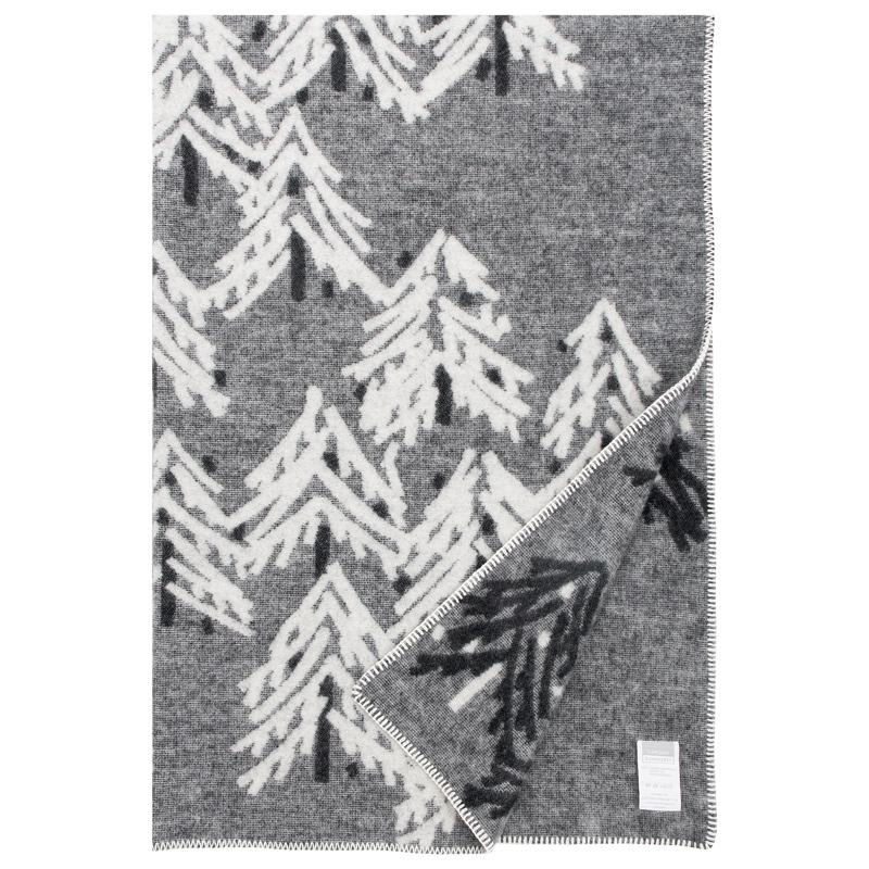 Vlněná deka Kuusi 130x200, šedá