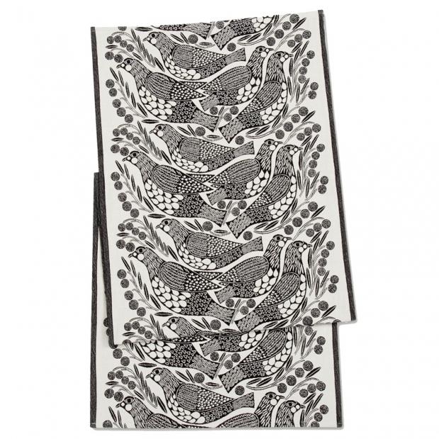 Behúň Kiiruna 47x150, čiernobiely