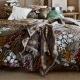 Bavlněná deka Kiiruna 130x180, hnědá
