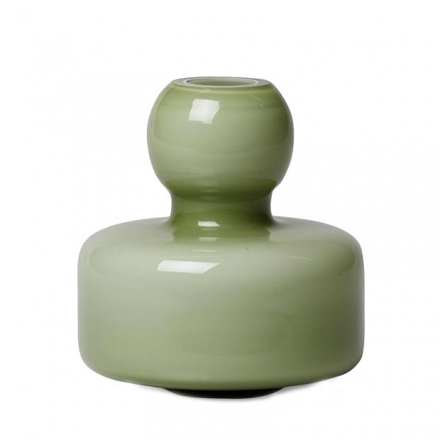 Váza Flower, zelená