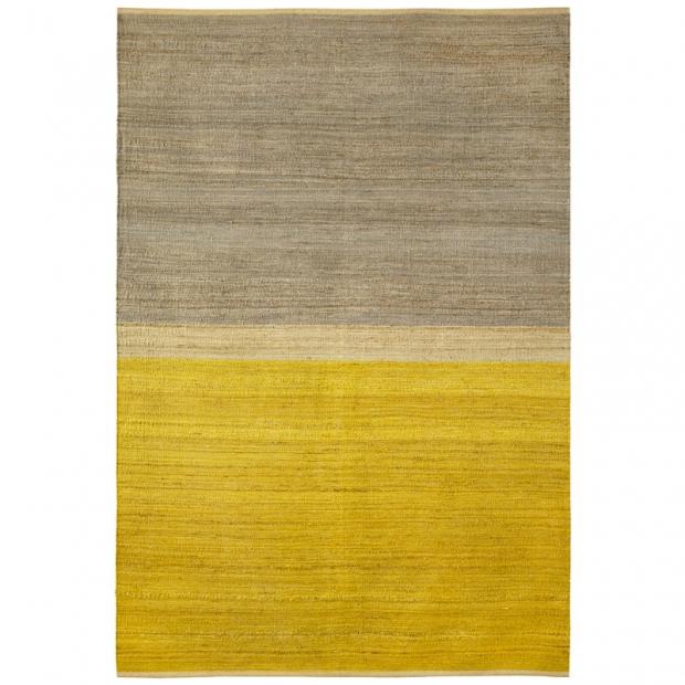 Koberec Field, žluto-šedý