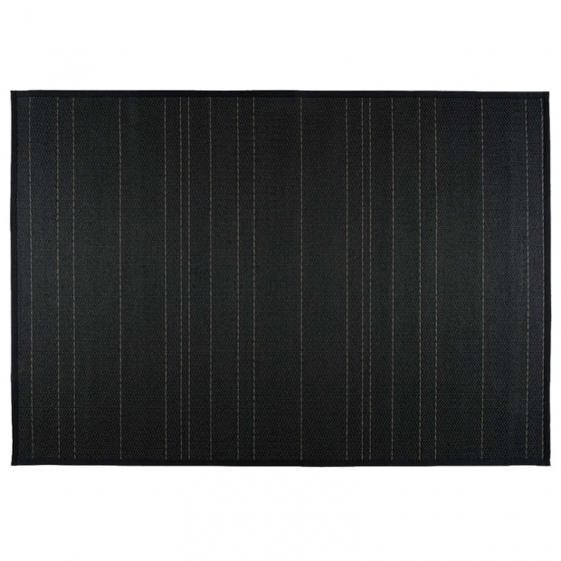 Koberec Kajo, čierno-sivý