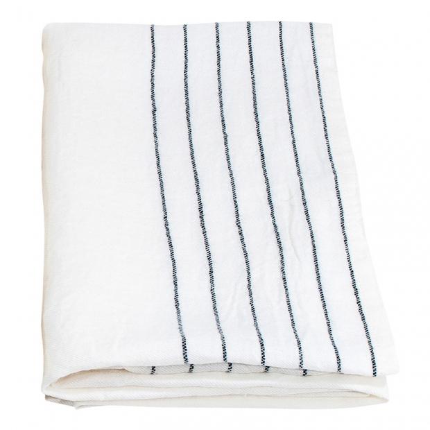 Osuška Kaste 95x180, bílo-šedá