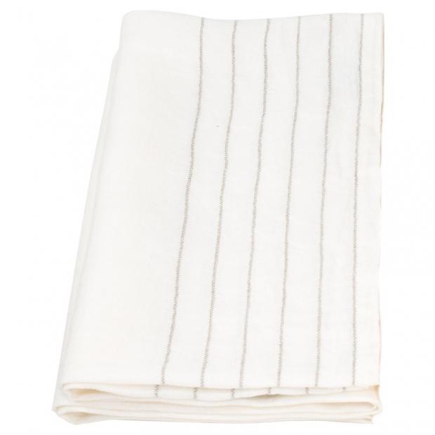 Osuška Kaste 95x180, bílá-len