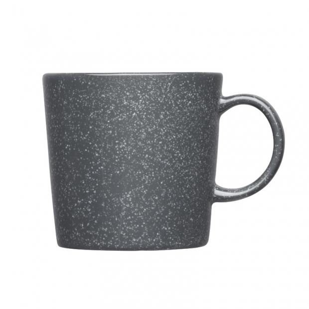 Hrnek Teema 0,3l, šedý s tečkami