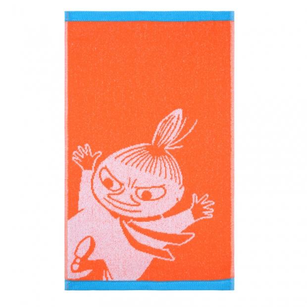 Ručník Little My 30x50, oranžový