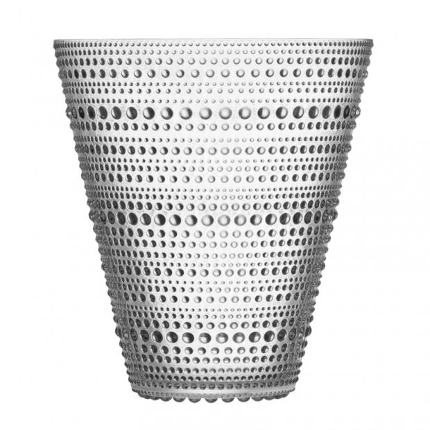 Váza Kastehelmi 154mm, čirá