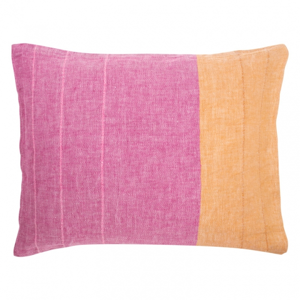 Obliečka na vankúš Tsavo 50x60, ružovo-oranžová