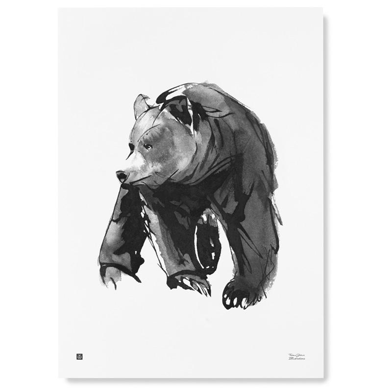 Plakát Gentle Bear 50x70