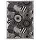 Bavlněná deka Siirtolapuutarha 130x180, černo-bílá