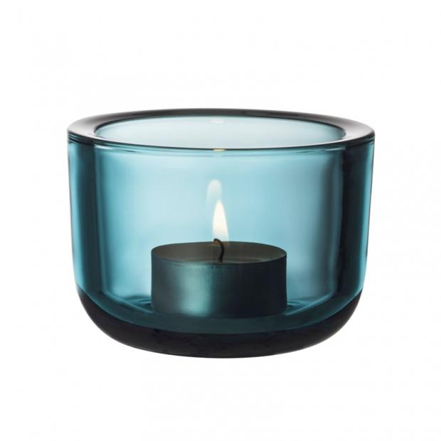 Svícen Valkea, modrý seablue