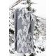 Vlnená deka Kuusi 130x200, sivá