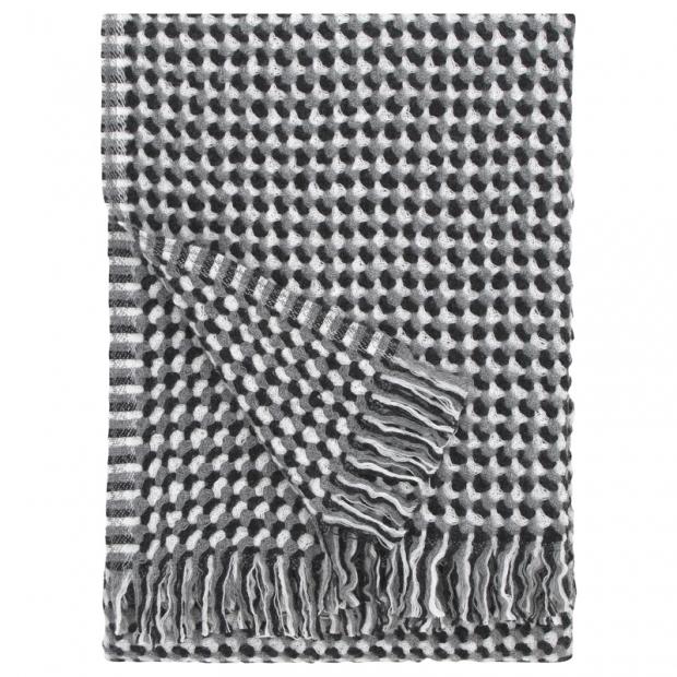 Vlněná deka Alva 130x170, šedá