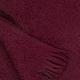 Vlněná deka Corona Uni 130x170, bordová