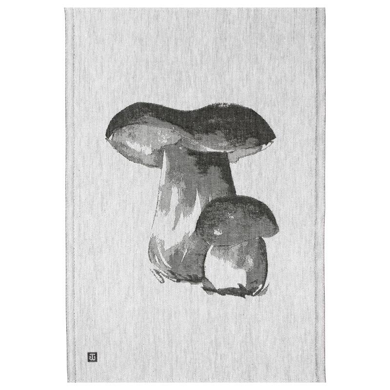 Utěrka Tatti 46x70, šedo-černá